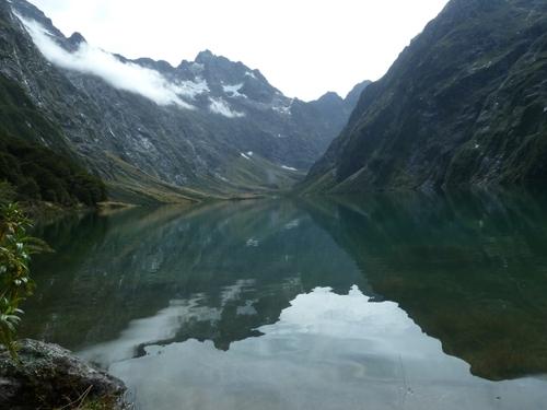 le trek du Lake Marian.