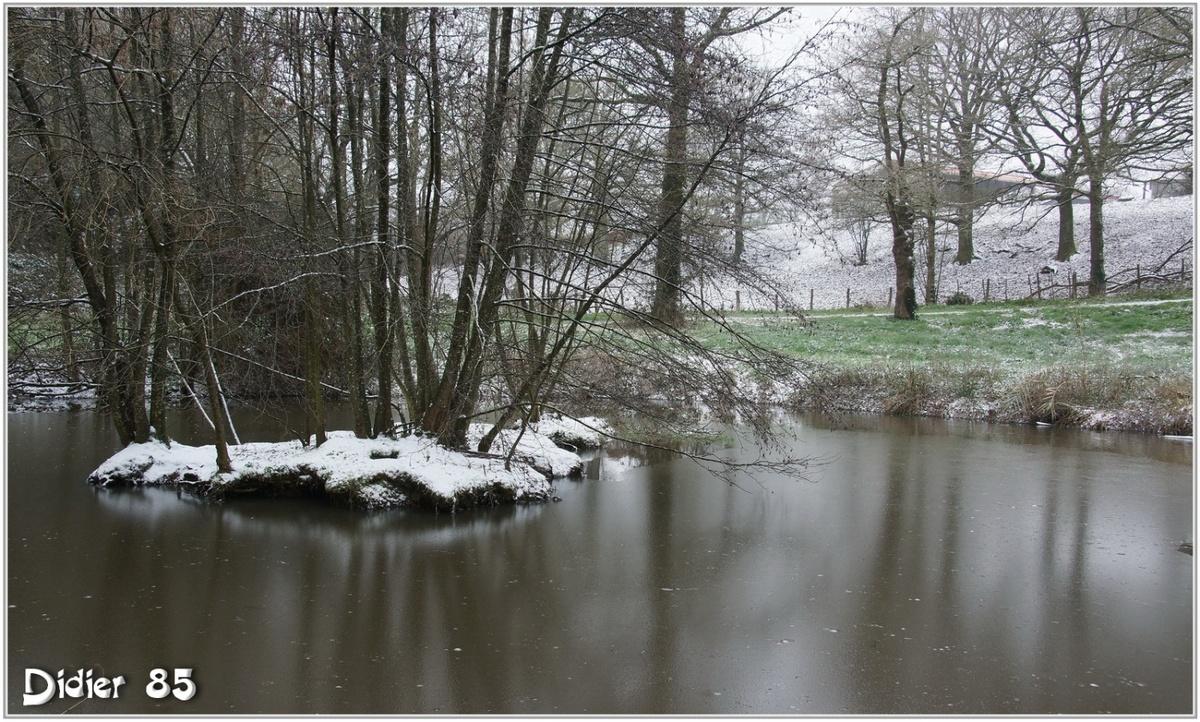 (85) Vendée - La Chaize le Vicomte (11) - Reflets dans la Vallée Verte
