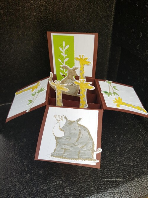 carte duo d'animaux