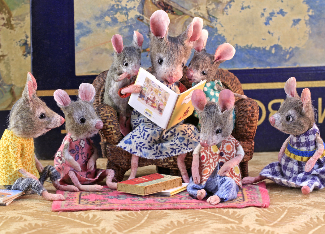 MousesHouses — Happy Children's Book Week!