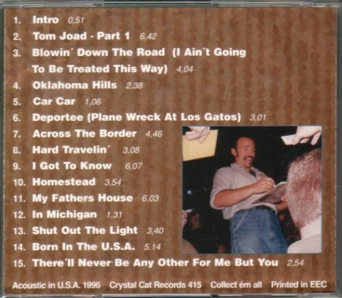 La Saga de Springsteen - épisode 26 - La tournée Tom Joad