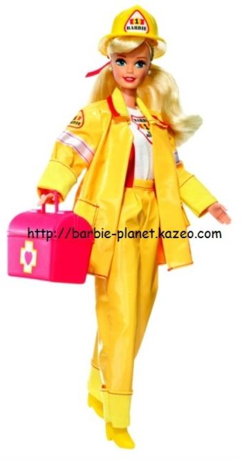 Barbie pompière