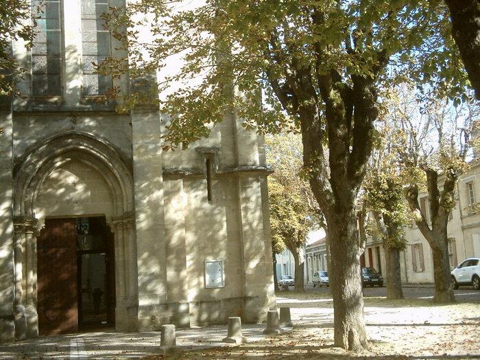 L'Eglise Saint-Martin de Villandraut(gironde)