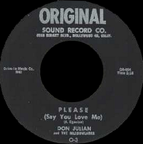 "Don Julian & The Meadowlarks : CD "" The Booglay 1954-1965 "" SB Records DP 93 [ FR ]"