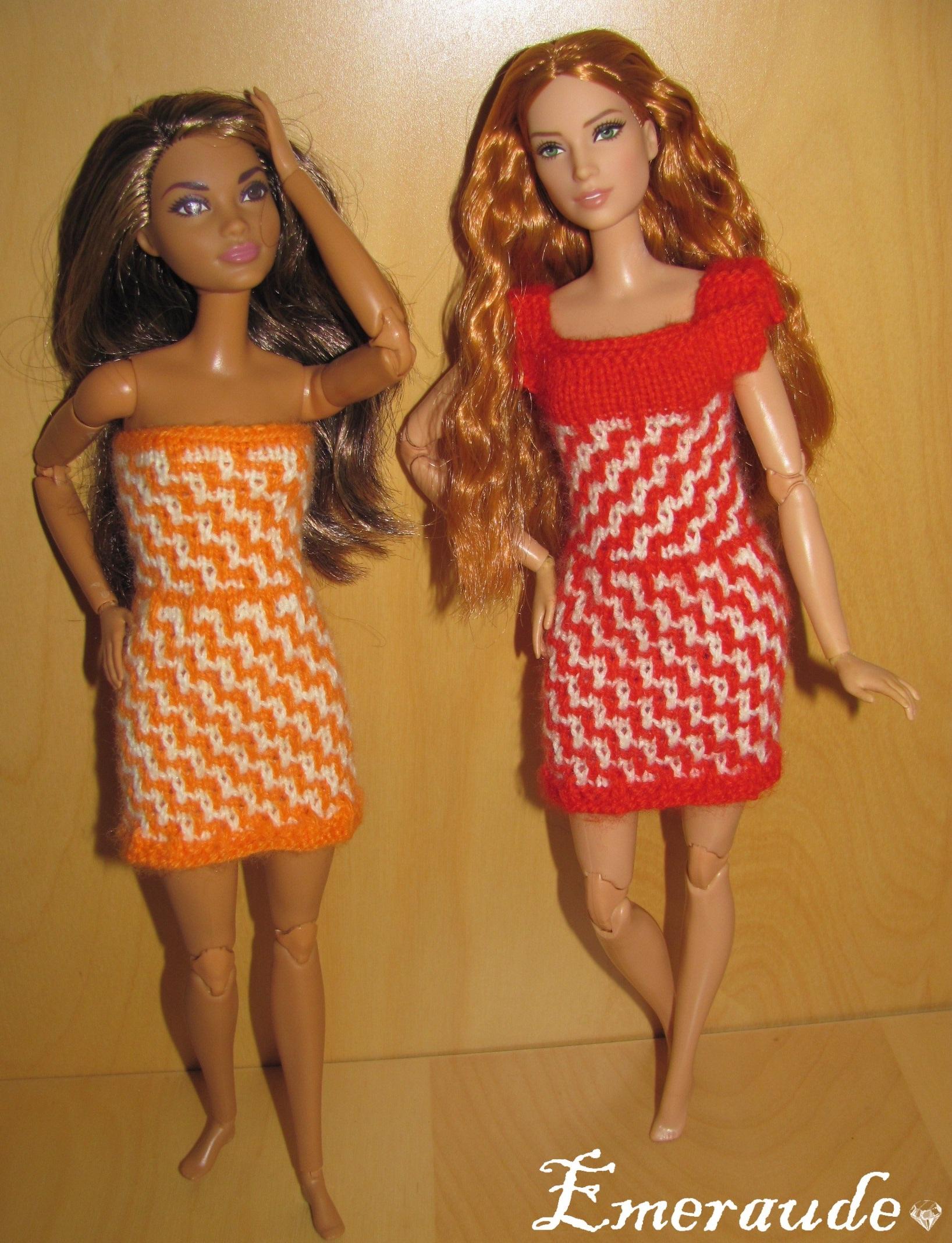 Tricots Barbies Et Autres Poupées Les Passions Demeraude