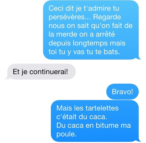 SMS de Mère #8