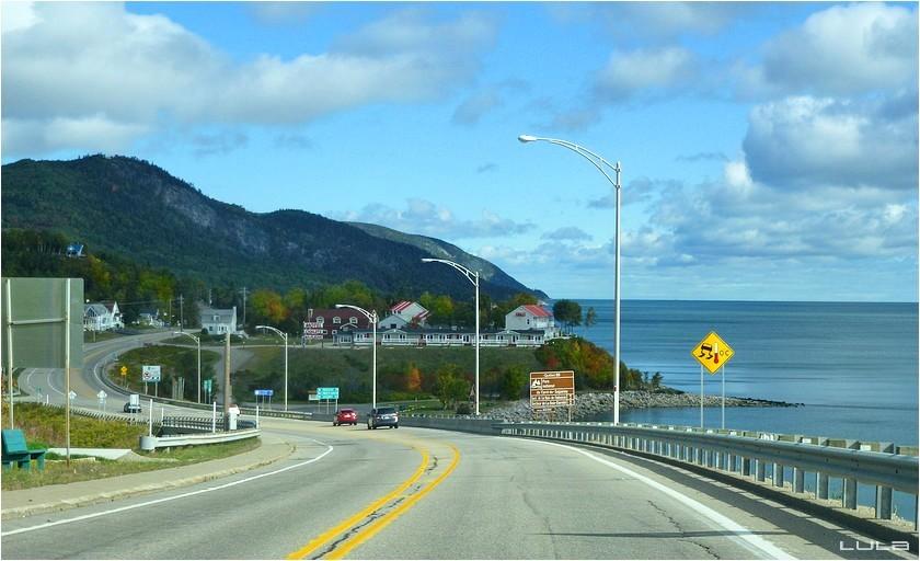 Saint-Siméon - la Baie des Roches