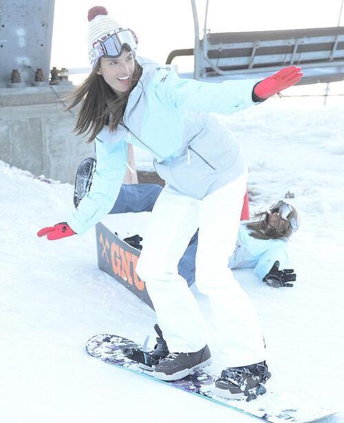 Les stars font du ski