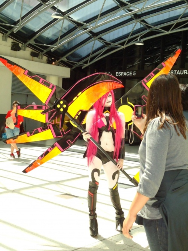 JAPAN EXPO, les cosplays (suite)