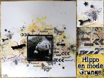 Hippo en mode grunge