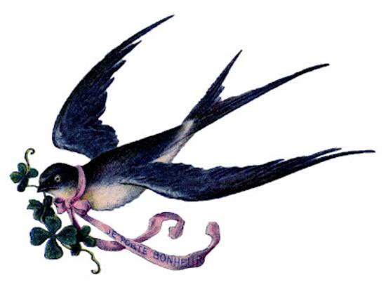 ~~ Un oiseau chante ~~ de G. Apollinaire.