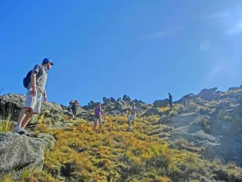ARGENTINA ! Erik  dans les Sierras le 1er septembre 2013