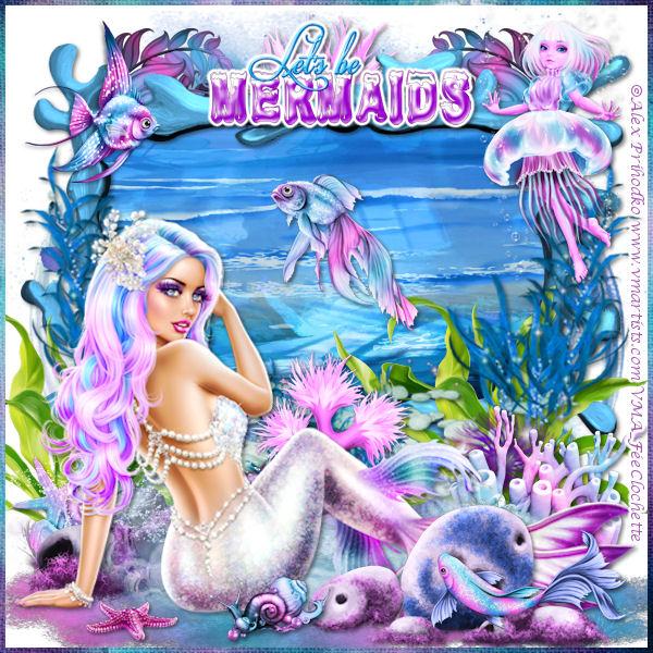 Let's be mermaid