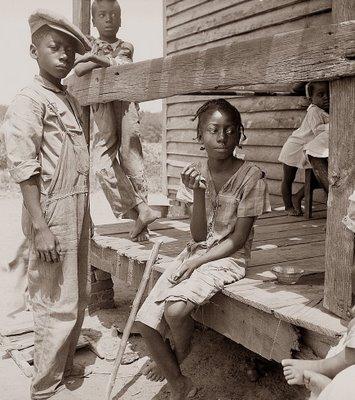 MISSISSIPI - photos d'enfants 1936