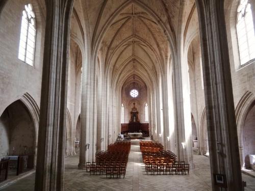 L'abbaye de Celles-sur-Belle dans les Deux-Sèvres (photos)