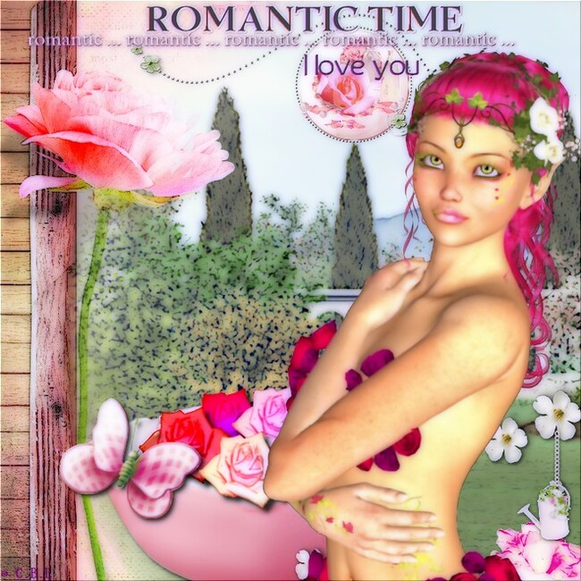 Romantic roses by cassebonbon léa