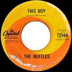 Beatles : This Boy (1964)