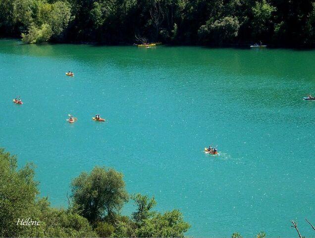 Lac de St Cassien (Var)