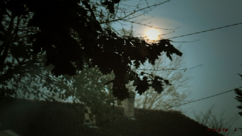 La lune ...            Jeudi 24