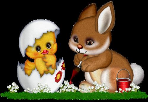 Tubes Pâques.. Animaux