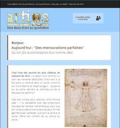 Spécial histoire des arts et mathématiques
