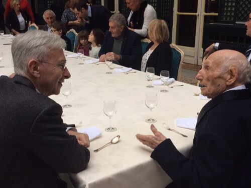 *  Les 105 ans de Marcel Barbary fêté à la préfecture de la région Nouvelle-Aquitaine et de la Gironde.