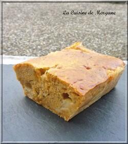Cake pesto rosso et mozzarella
