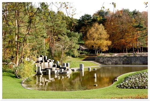 Le Parc Floral de Paris. Vincennes.