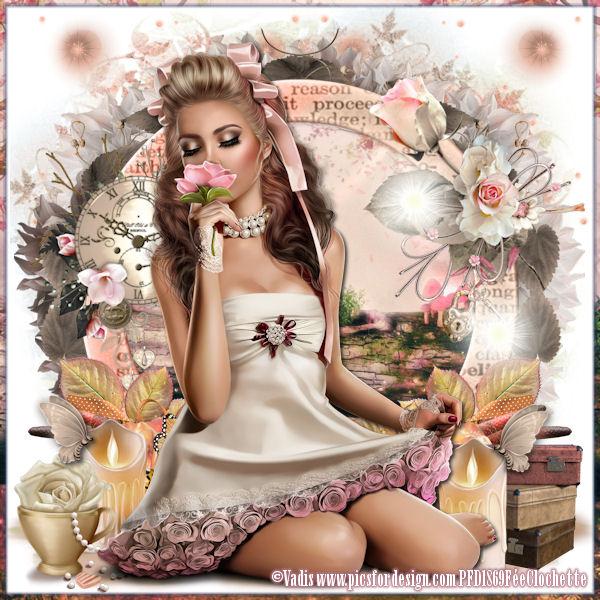 Rose doll