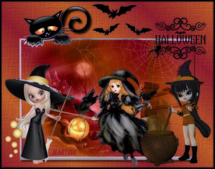 "Défi Nathie ""Pancartes d'Halloween"""