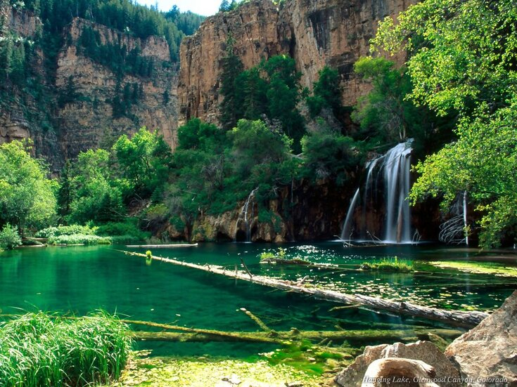 Hanging Lake, Glenwood Canyon, Colorado, USA