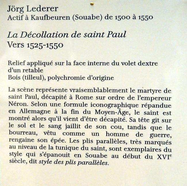 Exposition au Petit-Palais Paris.