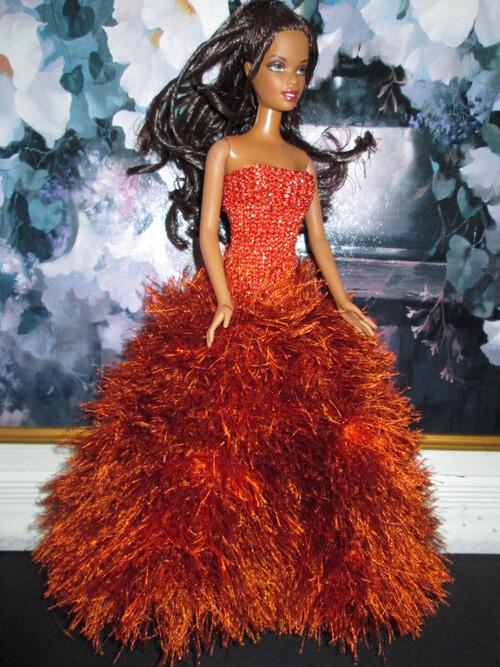 Robes longues pour barbie
