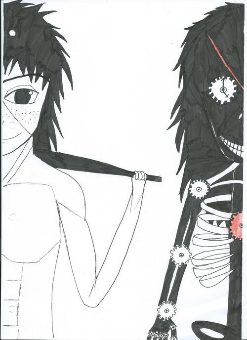 Tome 1 de mon manga, couverture