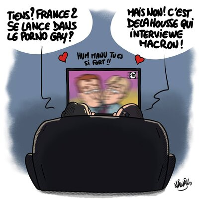 Macron veut nettoyer le Net?