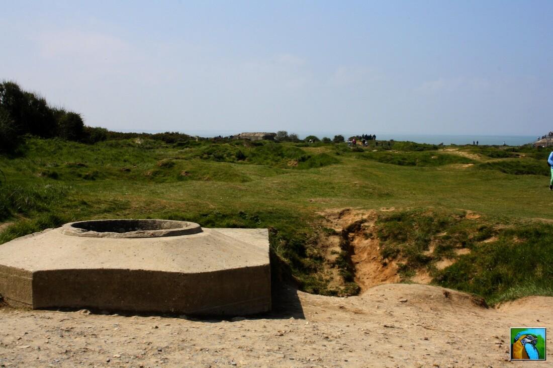 Normandie mai 2017: La Pointe du Hoc et ses combats