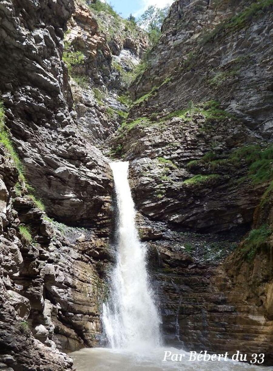 la cascade de la Lance dept 04