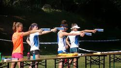 Tétrathlon minimes cadets Aix en Provence
