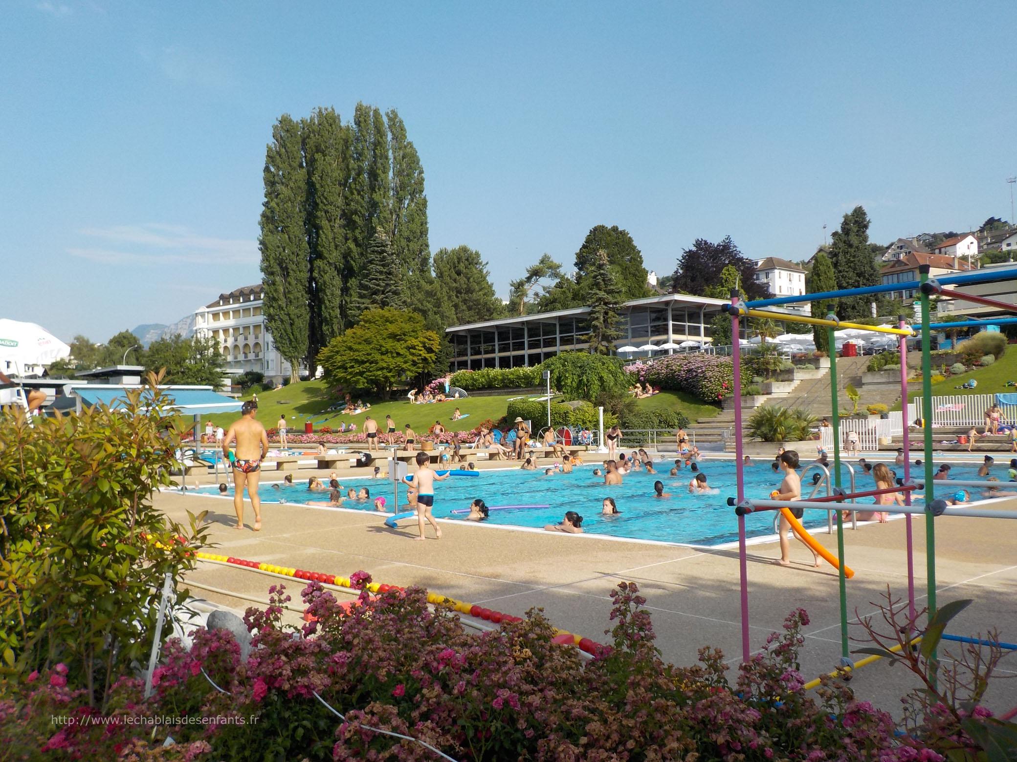 Centre nautique d 39 evian les bains le chablais des enfants for Bain les bains