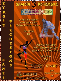 "★ Prochain Concert de Couleur Sabar ""Niokobok"""