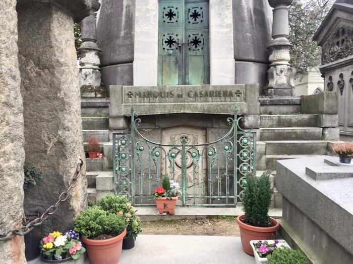Les plus belles tombes du Père Lachaise
