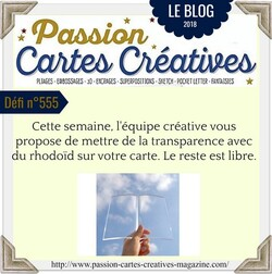 Passion Cartes Créatives#555 !