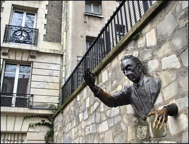 Le Passe-Muraille - Montmartre