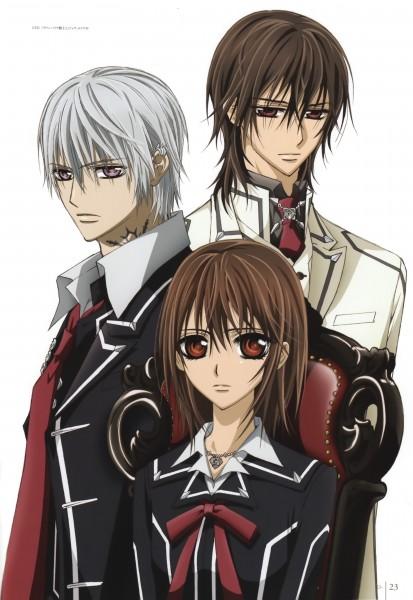 Tags: Anime, Nishida Asako, Jam (Artbook), Vampire Knight, Kuran Kaname, Yuki Cross, Kiryuu Zero