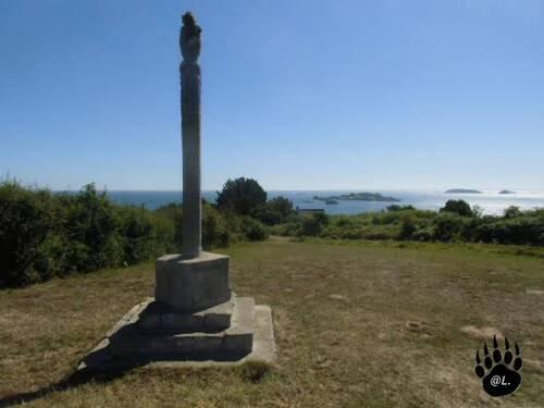 La Croix des Veuves  à Ploubazlanec (Côte d'Armor)