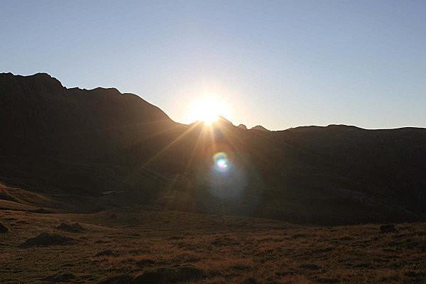 rando au lac d'Arlet-39- 20h45 le soleil se cache