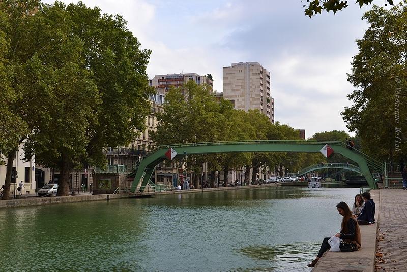 La photo du weekend : sur les bords du canal de l'Ourcq
