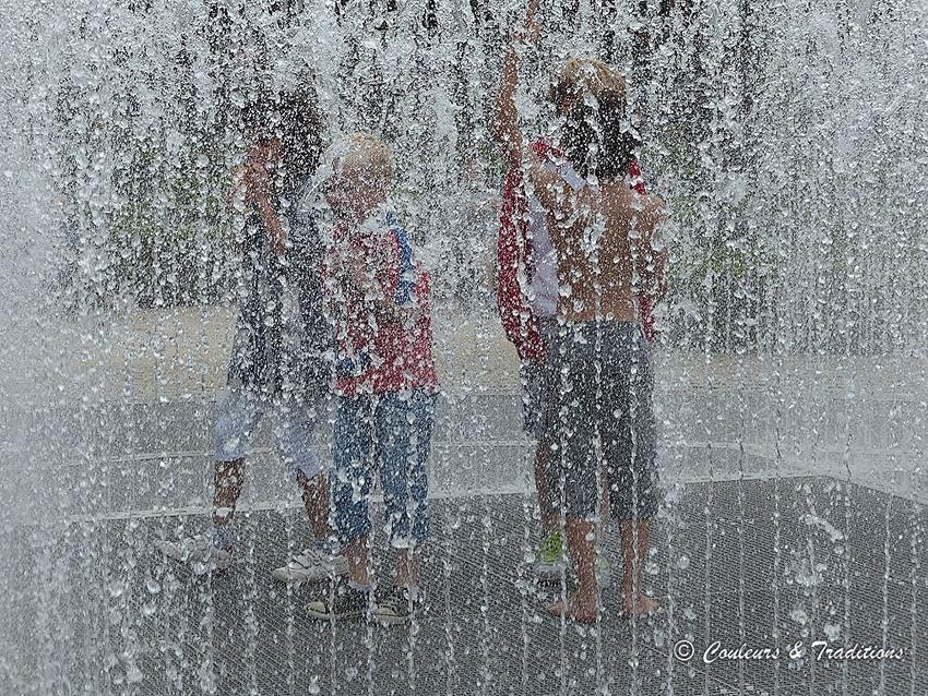 Les fontaines du Rijksmuséum