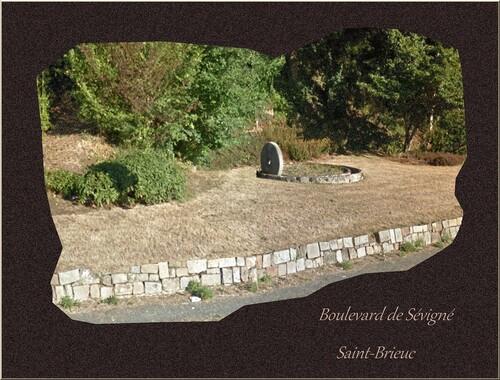 Images de Saint-Brieuc . Boulevard de Sévigné