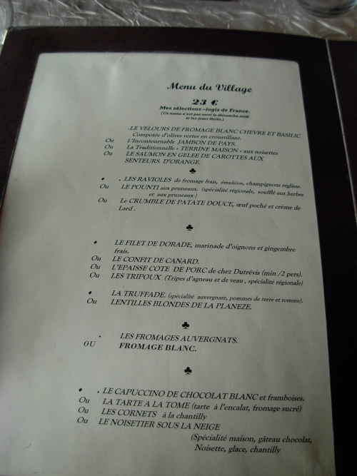etape 4 Aurillac / golihnac